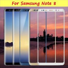 For Samsung Galaxy Note 8 Full Coverage Curved Tempered Glass Screen Protectors