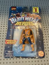 VINTAGE MARVEL TOYBIZ HEAVY METAL HEROES HOBGOBLIN MINI ACTION FIGURE MOC 1998