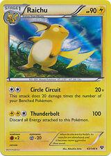 Pokemon XY Raichu 43/146 Holo Rare Card