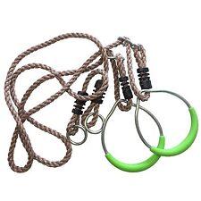 anneaux métal de corde gymnastique Tour jeux balançoire pour NEUF