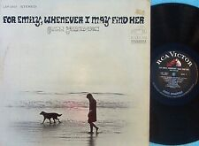 Glenn Yarbrough ORIG US LP For Emily whenever I may find her EX '67 RCA Folk
