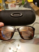 Oakley game changer sunglasses black and bronze comes with oakley case womens