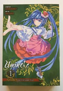 Umineko When They Cry End of Gold Witch 1 Manga NEW Yen Graphic Novel Comic Book
