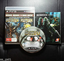 Bioshock Ultimate Rapture Edition (Sony PlayStation 3, 2012) PS3 - FREE POSTAGE