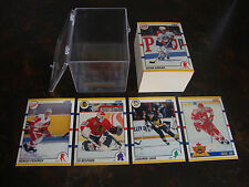 1990-91 Score Hockey---Rookie/Traded---Complete Set 1-110---NrMt