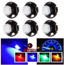 30pcs/lot T4.7 Wedge 5050-SMD Light Bulb Multi-color Car Panel Gauges Lamp Light