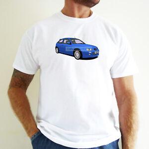 MG ZR CAR ART T-SHIRT. PERSONALISE IT!