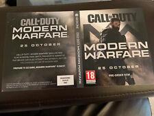Call Of Duty Modern Warfare Xbox One Display Case Poster X1