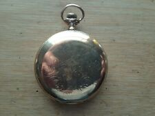 Elgin 12s 15 Jewel Pocket Watch, Crescent 25 Year Gold Filled Full Hunter Case