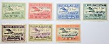 Albania Stamps  1928, MI: 162-68 MINT HINGED * Complete Set
