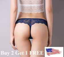 New *☆USA☆ Sexy Women Lace Thong G-string Panties Lingerie Underwear  T-back