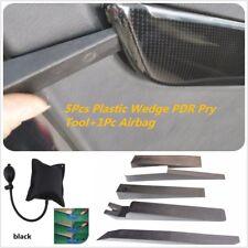 5Pcs Plastic Wedge Assemble Window Door Remover PDR Repair Pry Tool+1Pc Airbag