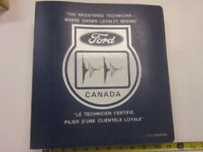 1974 Dealer's product information manual Technical Service Bulletin book Ford