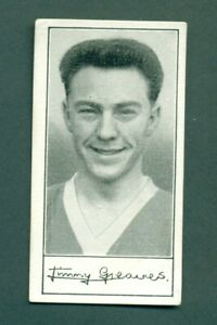 BARRATT, FAMOUS FOOTBALLERS series A6 no.17 JIMMY GREAVES