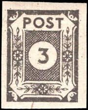 Scott # 15N2 - 1945 - ' Numeral ', Pointed 3