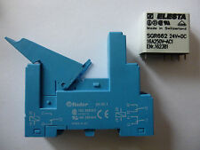 Elesta Relais Steckrelais Typ SGR662 mit Finder Sockel 95.95.1 | 24 V