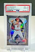 MIKE TROUT STERLING CONTINUITY 2019 BOWMAN PSA 10 GEM MINT