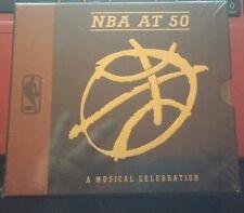 NBA AT 50 Music CD Marvin Gaye, Brian McKnight, Kool & Gang Musical Celebration