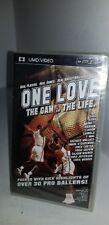 Nuovo Sigillato in Fabbrica One Love The Game Life UMD Mini Film per Psp Sistema