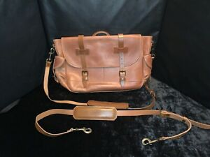 New Men's Whipping Post WP Standard Large Leather Messenger Bag