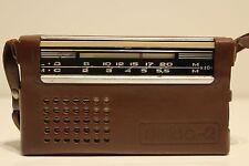 "VINTAGE RARE COLLECTIBLE USSR RUSSIAN  RADIO TRANSISTOR ""ETUD-2"""