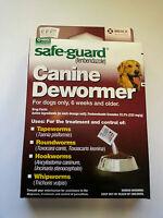 Dog Puppy Animal Wormer FENBENDAZOLE Broad Spectrum Pet Dewormer Safeguard 40lb