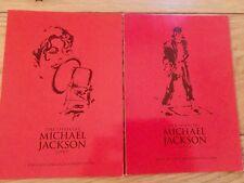 MICHAEL JACKSON OPUS PROMO POSTCARD X 2 - SCREAM