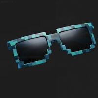 346F Unisex Retro Gamer Pixelated Style Square Cool Fashion Glasses Sunglasses