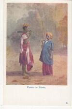 Karens In Burma Vintage Postcard US050