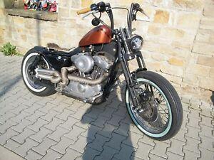 Springer Gabel einbaufertig Harley XL 883 / 1000 / 1100 / 1200 Sportster mit TÜV