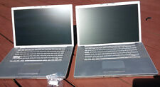Lot of 2 Apple Macbook Pro A1211 A1260 No HD/Battery - DOES NOT TURN ON