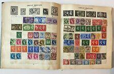 Vintage Stanley Gibbons The Strand Stamp Album, 2,000+ World Stamps