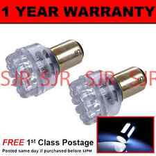 380 BAY15D 1157 XENON WHITE 24 DOME LED STOP TAIL BRAKE LIGHT BULBS X2 ST200401