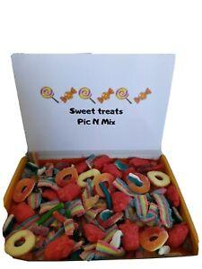 SWEETS HALAL Sweet Box Candy Jelly Fruits Gift Personalised Box Birthday Xmas