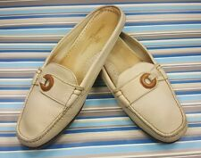TOMMY BAHAMA SLIP ON SOFT LEATHER MULES SLIDES WOMENS SHOES 7.5 M