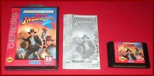Young Indiana Jones for the Sega Genesis System Boxed Complete!
