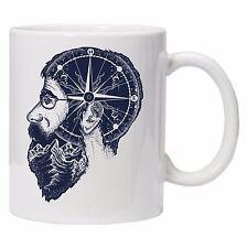 Gentleman Double Exposure Unique Tea Coffee HIPSTER Mug Cup gift Birthday