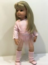 "Gotz Doll Hannah 19"" With New Gotz Ballet Outfit"