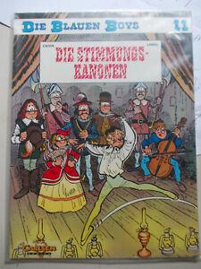 Die blauen Boys 11 Die Stimmungs-Kanjonen  1. Auflage 1994 Carlsen Comics