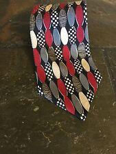 Oscar De La Renta Men's Necktie Made In The USA 100% Imported Silk
