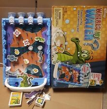 Disney Where's My Water? Action Skill Board Game Complete Hasbro 2012