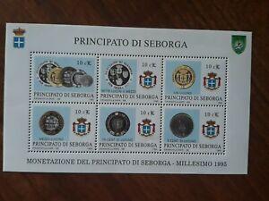 1995 Principato Di Seborga Foglietto 6val. Nuovo MNH