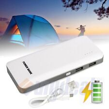 50000mAh External Power Bank LED Backup 2 USB Battery Charger For Cell Phone US