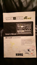 Korg ER1-MK2 ELECTRIBE original instruction manual