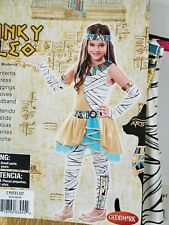 Funky Cleo Costume Girl size M 8-10