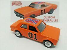 Hot Wheels Custom Dukes of Hazzard General Lee Datsun Bluebird 510 (Real Rider)