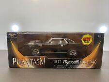 1/18 Ertl American Muscle 197 Plymouth Phantasm  'Cuda 340 Black 36685 NIB