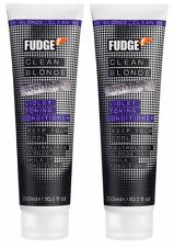 Fudge Clean Blonde Violet Shampoo 1000ml Conditioner 300ml