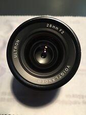 Voigtländer Voigtlander Ultron 28 mm f/2 Leica M