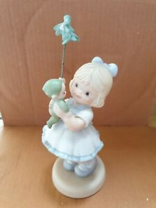 """Enesco Mabel Lucie Attwell """"Merry xmas little boo boo"""" Memories of Yesterday"""